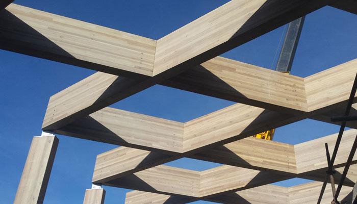 cork cedarlan glulam structures