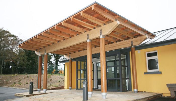 cedarlan cork entrance canopy